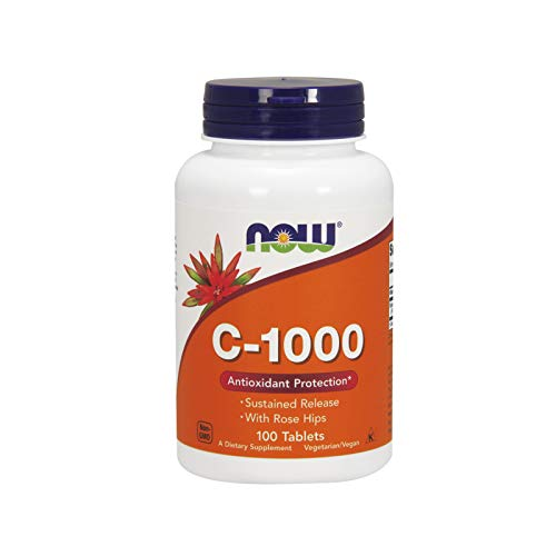 Now Foods, Vitamin C-1000, Kontinuierliche Abgabe, 100 Veg. Tabletten