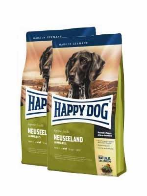 Happy Dog Supreme Sensible Neuseeland 2x12,5kg + MIOMERA gratis Snack -