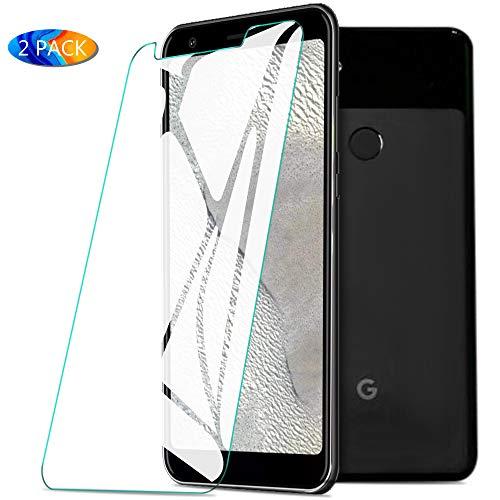 KuGi. für Google Pixel 3a XL Panzerglas, Google Pixel 3a XL Schutzfolie 9H Hartglas HD Glas Blasenfrei Displayschutzfolie passt für Google Pixel 3a XL Smartphone. Klar [2 Pack]