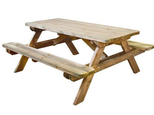 Jardipolys - Table pique nique ROBUSTE JARDIPOLYS