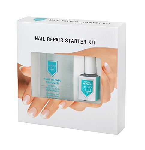 Micro Cell 2000 Nail Repair Starter Kit (Nail Repair Lack, 12 ml und Nail Repair Remover, 100 ml im Set)