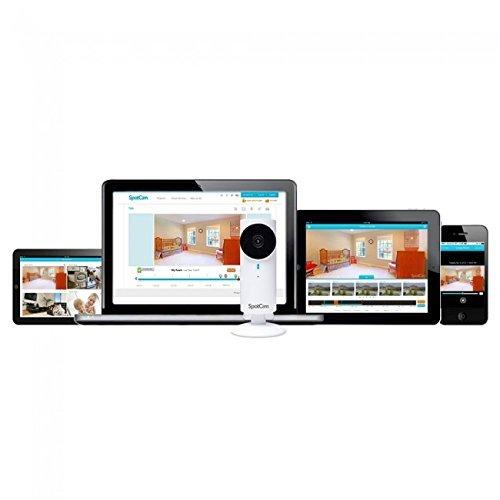 SpotCam Sense HD Wi-Fi Baby Monitor Camera + Nanny Baby Breathing Monitor