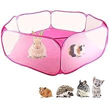 Carpa de jaula de C&C de animales pequeños, cerca de ejercicio transpirable y transparente para