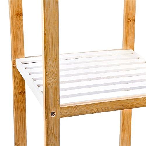 Relaxdays Regal Bambus Weiss Aus Bambus De