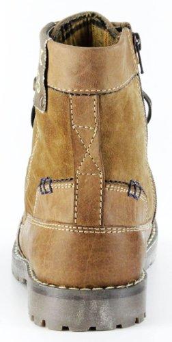 Marc Stiefeletten cognac braun Leder Stiefel Herren Schuhe Lennon 1-210-07-12 Braun