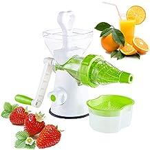Wheatgrass Manual Juicer Manivela de trigo Trigo Hierba Fruta Vegetal Extractor de jugo Herramienta Juicing DIY