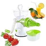 JoyFan Mano Manovella Juicer Freddo stampa Manuale wheatgrass Juicer Gelato Miscelatore Frutta Verdura Succo Estrattore