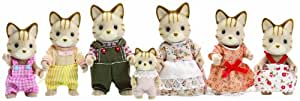 Sylvanian Families Celebration Cat Family