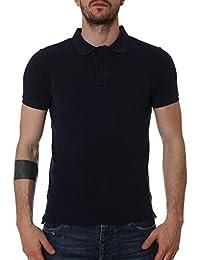 Blauer Homme 17SBLUT02034A02835888 Bleu Coton Polo