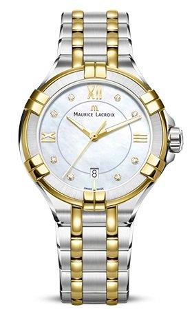 Maurice Lacroix AIKON AI1004-PVY13-171-1 Reloj de Pulsera para mujeres Fabricado en Suiza