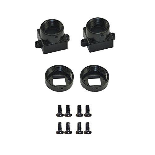 Festnight Objektivhalterung, Linsenhalter für M12 / CS-Montierung CCTV-Überwachungskamera Adapter für Leiterplattenmodul Cs-mount-adapter