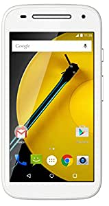 Moto E 2nd Generation (4G, White)