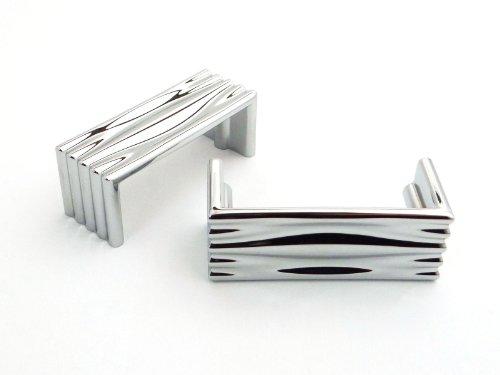 SO-TECH® Möbelgriff CADIS Chrom poliert BA 64 mm Möbelgriffe Designgriff Designgriffe