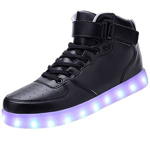 [Present:kleines Handtuch]JUNGLEST 7 Farben LED Kinder, Jungen, Mädchen führte leuchten Trainer Sneakers Turnschuhe Sportschuh c34