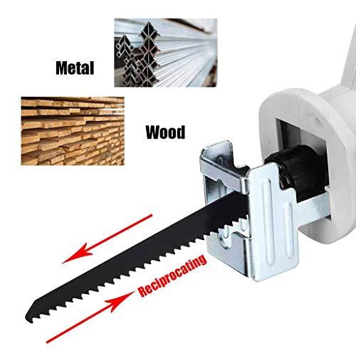 Elektrische Schneiden Tragbare Lade Schnurlose Elektrische Li-Ion Gravur Carving Maschine Säbelsäge Holzwerkzeug Sägewerkzeug MAX 21 V Anzug für DIY Holzbearbeitung Hochbau (Kettensäge)
