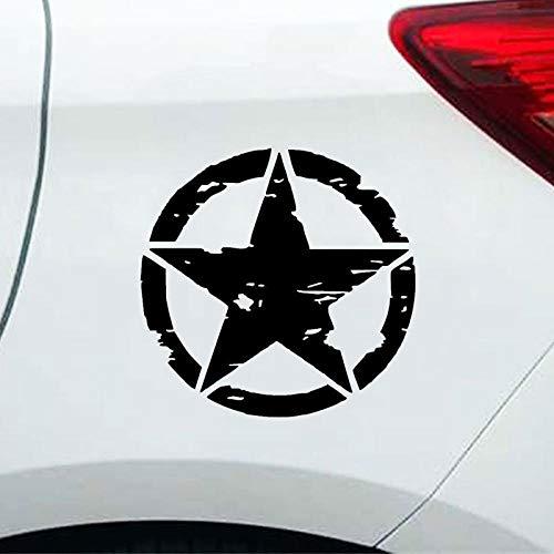 Adesivi per auto moto stella della moda e decalcomanie Auto in vinile e adesivo decorazione casco moto, per styling auto, decalcomanie per vetri auto