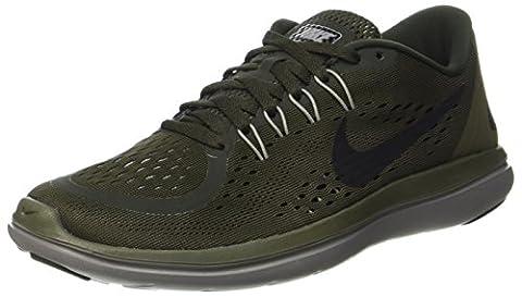 Nike Flex 2017 Rn, Chaussures de Trail Homme, Multicolore (Sequoia/Black-Med Olive-Dust), 38.5 EU