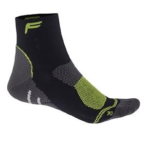 Flite F-Lite Men's Merino Mountainbike High Socks-Black/Light Grey, (39-42)