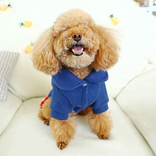LKIHAH Hundekleidung Niedliches Kleines Hundekleidungs-Haustier-Mädchen Woolen Kostüm-Rock-Warmes Nettes Kleid Für Das - Niedliche Mädchen Hunde Kostüm