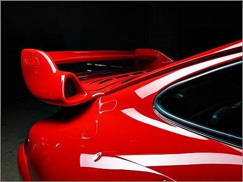 Forex-Platte 120 x 90 cm: Porsche 911 GT2 Roter Sportwagen von rclassen