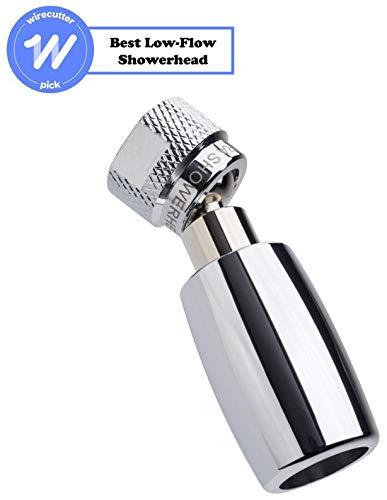 High Sierra Showerheads Alle Metallwatersense-zertifizierte 1.5 gpm hohe Effizienz Low-Flow-Duschkopf (Chrom) - Low-flow-wasser