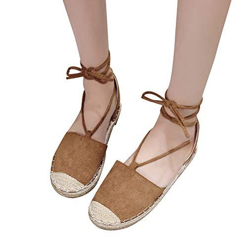 Boho Zapatos de Planas Zapatos de Playa Calzado Zapatillas Zapatos Pla