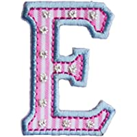 E 9cm rosa blu Lettere Regalo Ricamare Nascita Creativo per