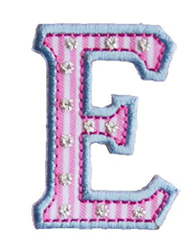 E 5cm rosa blu Lettere Regalo Ricamare Nascita Creativo per