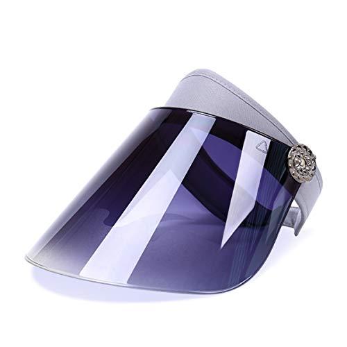 DORRISO Nuovo Cappello Protezione Solare Visiera Anti-UV Viaggio  Equitazione Escursionismo Spiaggia Unisex Berretto Tinta d36a0895b2df