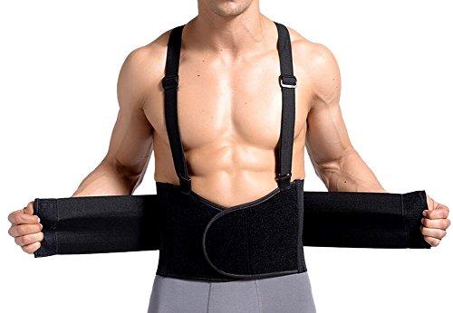 TININNA Faja Fuerza Soporte Cintura Espalda Lumbar Ajustable Elástica