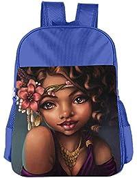 Africa Woman Children School Backpack Carry Bag For Kids Boys Girl