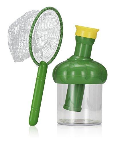 NPW NPW48834 Kinder Insektenbetrachtungs-Mikroskop Natur Spielzeug - Insektenfang-Set
