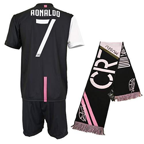 con Firma Stampata Limited Edition Leggere Note CR7 MUSEU Completo Cristiano Ronaldo 7 Ufficiale Autorizzato Bambino S M L XL Adulto Taglie-Anni 2 4 6 8 10 12