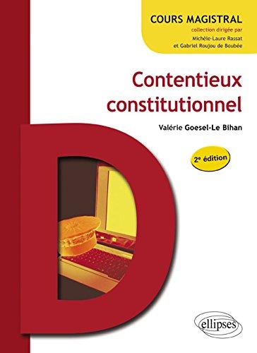 Contentieux Constitutionnel