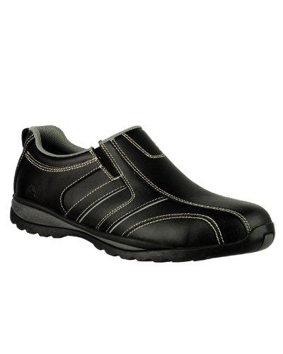 Amblers-Safety FS63 Chaussures Unisexe Homme le travail des femmes Steel Orteil Black