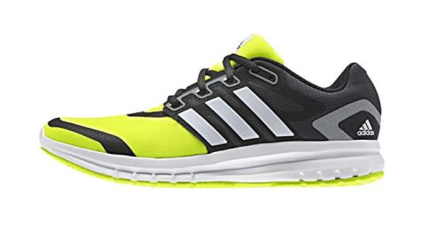 adidas Men's Brevard Running Shoes - Lime/White/Grey, Size 7 ...