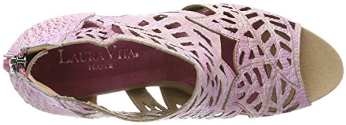 Laura Vita Albane 04, Bout Ouvert femme Rose
