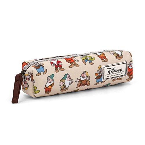 Karactermania 33618 Disney Classic Sette Nani Astuccio, 22 cm, Beige