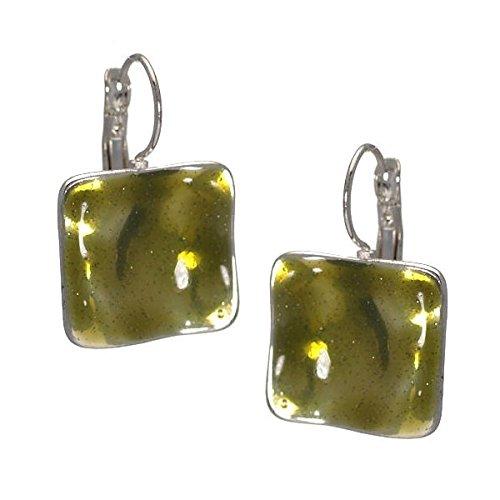 Arabella Grüne Haken Ohrringe