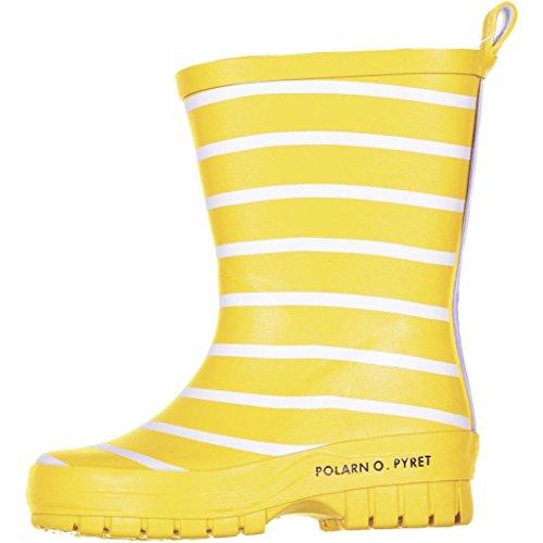 POLARN O. PYRET CLASSIC STRIPE RAIN BOOTS (BABY)