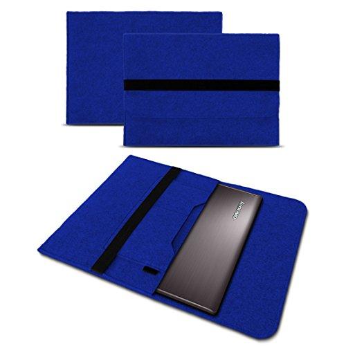 Express Notebook (UC-Express Sleeve Notebook Hülle für Lenovo ThinkPad X270 X280 Tasche Filz Cover Case 12,5 Zoll Grau, Farbe:Blau)
