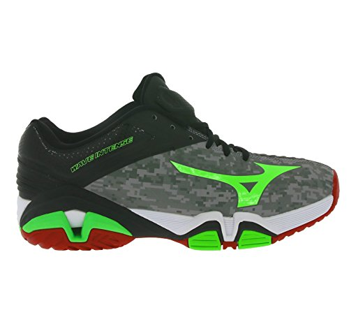 Mizuno Wave Intense Tour 2 AC Tennisschuh Grau