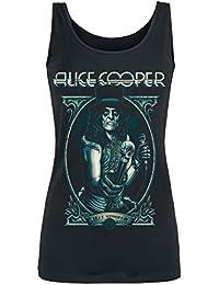 Alice Cooper Portrait Girl-Top schwarz