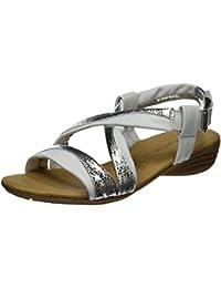 Tamaris Damen 28130 Offene Sandalen mit Keilabsatz