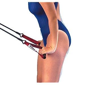 StrechCordz® mit Handschlaufen Gelb, Zugstärke 2,2-6,3 kg