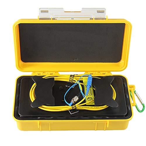 Comomingo FC-UPC / SC-UPC Professioneller 1KM OTDR-Einführungskabel-Box-Faserring (gelb & zurück) -