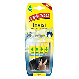 2 x 'Little Tree Invisi' Vent Air Freshener 'Sport' Fragrance