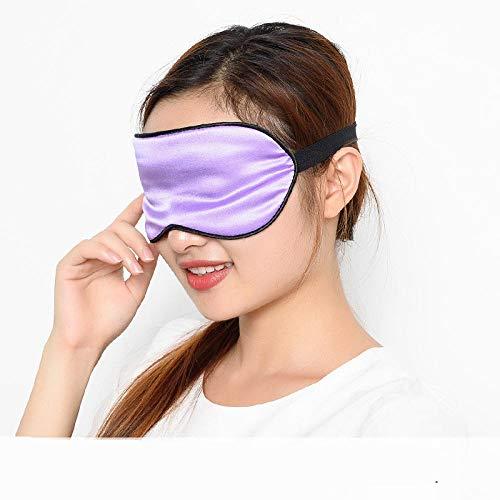 Augenmaske Schlafbrillen Erwachsene Sonnenbrillen Schlafseidenbrillen Männer Und Frauen Luftfahrt Mode Schlaf Schlaf Atmungsaktiv Verstellbar@Violettes Blau