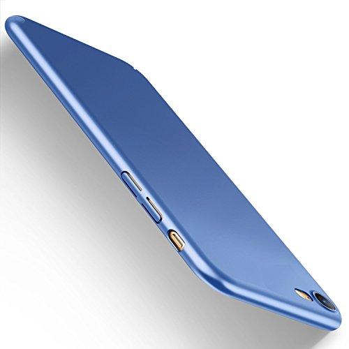 iPhone 6 6s Hülle, JEPER Ultra Slim PC Hard Anti-Scratch Case Matt FederLeicht Anti Fingerabdruck Shock Absorption Vollen Schutz Schale Cover für Apple iPhone 6 6s blue-01