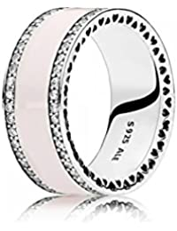 PANDORA - Nudo del anillo del amor de plata chispeante 925/1000 PANDORA 190997CZ - 56